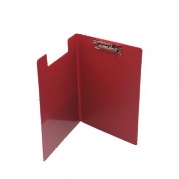 PVC Student File Lever Clip A4 (2100) - Red Colour / 12pcs