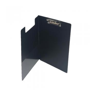 PVC Student File Lever Clip A4 (2100) - Black Colour / 12pcs