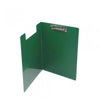 PVC Student File Lever Clip A4 (2100) - Green Colour / 12pcs