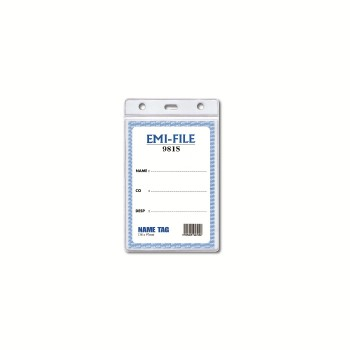 PVC Name Tag (981) / 1 packet