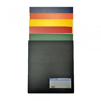 PVC Computer File (800) - Mix Colour / 20pcs