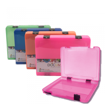 K2 40mm Document Case (Mix Colour) / 24pcs