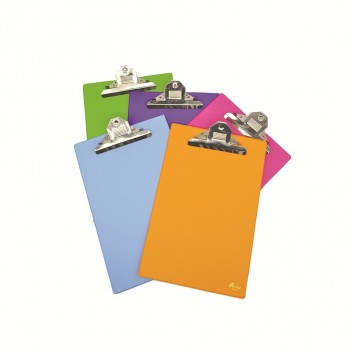 EMI F4 Jumbo Clipboard (1496) - Mix Fancy Colour / 6 pcs