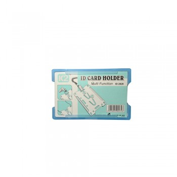 ID 2020 Card Holder - Transparent Blue / 1 box