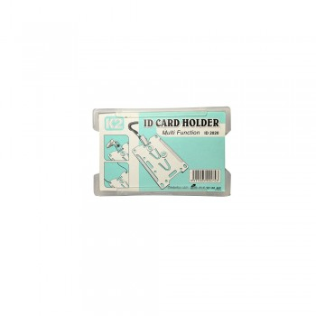 ID 2020 Card Holder - Transparent White / 1 box