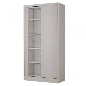 Full-Height Steel Cupboard L39A - Roller Shutter Door with 5 Shelves  sc 1 st  Emi-File & Filing u0026 Storage Cabinet