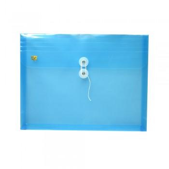 PP Envelope File Landscape - (Blue) / 1 packet