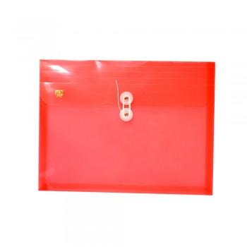PP Envelope File Landscape - (Red) / 1 packet