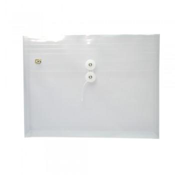 PP Envelope File Landscape - (White) / 1 packet