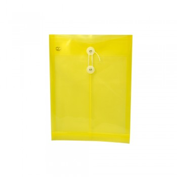 PP Envelope File A4 - (Yellow) / 1 packet