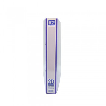 K2 GAT 25MM 2D Ring File - Fancy Purple / 30 pcs