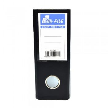 "EMI PVC 3"" Voucher File (Black) / 48 pcs"
