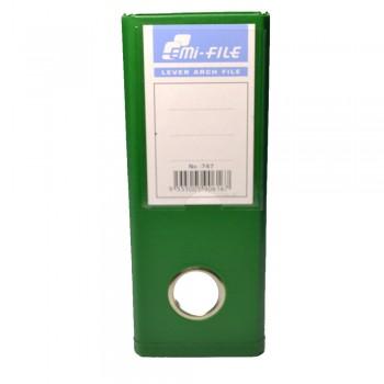 """EMI PVC 3"""" Voucher File (Green) / 1 box"""