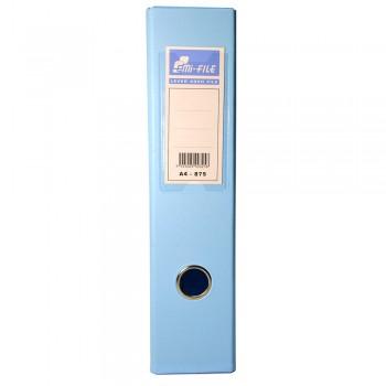 "EMI 3"" PVC Arch File (A4) - Fancy Blue / 1 box"