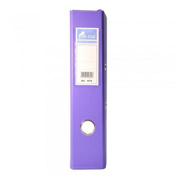 """EMI 3"""" PVC Arch File (A4) - Fancy Purple / 1 box"""