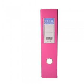 "EMI 3"" PVC Arch File (F4) - Fancy Pink / 1 box"