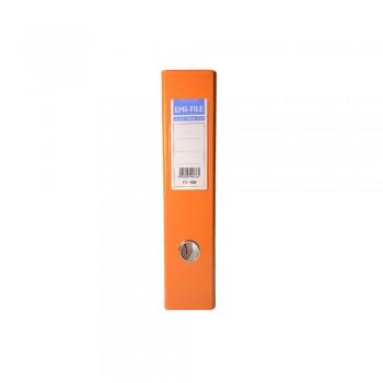 "EMI 3"" PVC Arch File (F4) - Orange / 1 box"