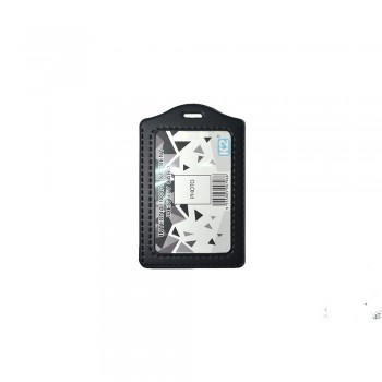 ID 3030 (P) PVC Card Holder - Black / 1 box