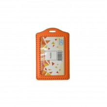 ID 3030 (P) PVC Card Holder - Orange / 25pcs
