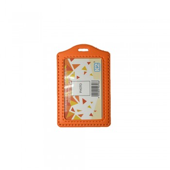 ID 3030 (P) PVC Card Holder - Orange / 25pcs