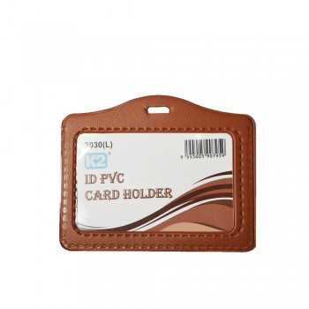 ID 3030 PVC Card Holder (Brown) / 1 box