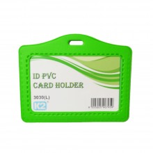 ID 3030 PVC Card Holder (Green) / 1 box