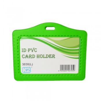 ID 3030 (L) PVC Card Holder (Green) / 25pcs