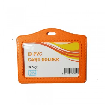 ID 3030 (L) PVC Card Holder (Orange) / 25pcs
