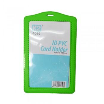 ID 4040 PVC Card Holder (Green) / 25pcs