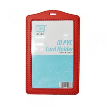 ID 4040 PVC Card Holder (Red) / 25pcs