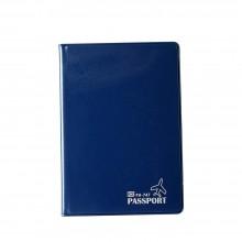 PVC Passport Cover (Blue) / 12 pcs