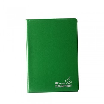 PVC Passport Cover (Green) / 12 pcs