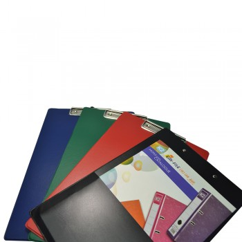 SUPER 1340 Wire Clipboard + Back Pocket (Mix Colour) / 24 pcs