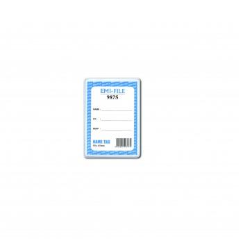 PVC Name Tag (987)